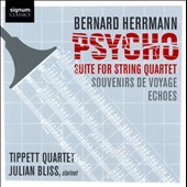 Bernard Hermann: Psycho Suite for String Quartet