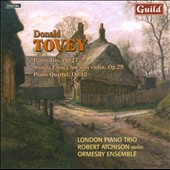 Music by Donald Francis Tovey, Vol.  2