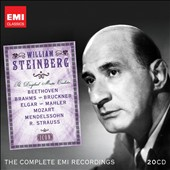Icon: William Steinberg / Beethoven, Brahms, Bruckner, Mahler, et al. [20 CDs]