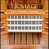 Homage: Bach, Durufle and Edwards / Carla Edwards, organ