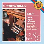 Bach: Great Organ Favorites / E. Power Biggs