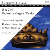 Bach: Favorite Organ Works / Anthony Newman