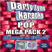 Karaoke: Party Tyme Karaoke - Pop Mega Pack 2 [8 CD] [Box]