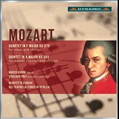 Mozart: Quartet in F, K.370; Quintet in A, K.581 / Marco Gironi, oboe; Vincenzo Paci, basset clarinet