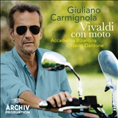 Vivaldi Con Moto - Violin Concertos RV 187, 281, 283 et al. / Giuliano Carmignola, violin
