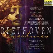 Beethoven: Overtures / Yoel Levi, Atlanta Symphony