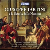 Giuseppe Tartini: 'School of Nations' / Giovanni Guglielmo, violin