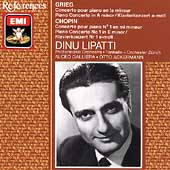 Grieg, Chopin: Piano Concerti / Dinu Lipatti
