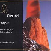 Wagner: Siegfried / Furtw&auml;ngler, Flagstad, Svanholm, Hermann