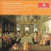 W.A. Mozart and Anton Stadler: Clarinet and basset horn chamber music / Luigi Magistrelli, clarinet, basset horn