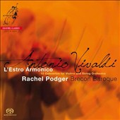 Antonio Vivaldi: L'Estro Armonico, 12 concertos for violin & strings / Rachel Podger, violin