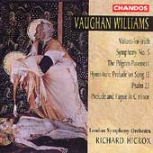 Vaughan Williams: Symphony no 5, etc / Hickox, London SO