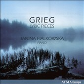 Grieg: Lyric Pieces / Janina Fialkowska, piano