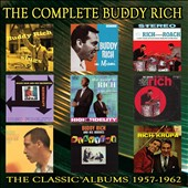 Buddy Rich: The Complete Collection: The Classic Albums, 1957-1962 [Slipcase]