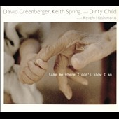 David Greenberger/Dinty Child/Keith Spring: Take Me Where I Don't Know I Am
