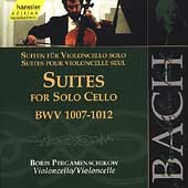 Edition Bachakademie Vol 120 - Cello Suites /Pergamenschikow