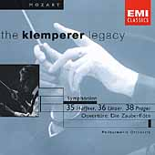 The Klemperer Legacy - Mozart: Symphony no 35, 36 & 38