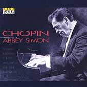 Chopin: Sonatas, Ballades, Scherzos, etc / Abbey Simon
