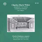 Widor: Symphonie V in f minor, etc / Charles Krigbaum