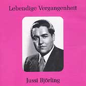 Lebendige Vergangenheit - Jussi Bj&ouml;rling