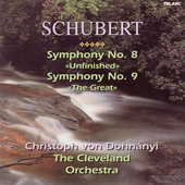 Classics - Schubert: Symphony no 8 & 9 / Dohn&#225;nyi, Cleveland