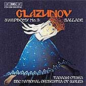 Glazunov: Symphony no 3, Ballade / Otaka, BBC Wales NSO