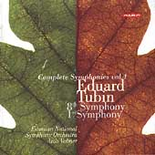 Tubin: Symphonies no 8 & 1 / Volmer, Estonian National SO