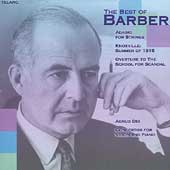 The Best of Barber - Adagio for Strings, Agnus Dei, etc