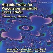 Historic Works for Percussion Ensemble (1931-1942) / Siwe