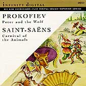 Prokofiev: Peter and the Wolf;  Saint-Saens: Carnival