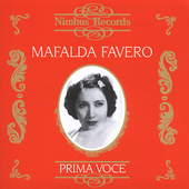 Prima Voce - Mafalda Favero - Recordings 1929-46