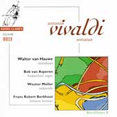 Vivaldi: sonatas / van Hauwe, van Asperen, M&ouml;ller, et al