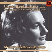 Ursula Bagdasarjanz plays Mozart, Beethoven & Brahms / Ursula Bagdasarjanz, violin