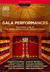 Gala Performances, Recorded Live at the Royal Opera House, Covent Garden / Robert Alagna; Lesley Collier; Angela Gheorghiu; Kiri Te Kanawa; Darcey Bussell; Placido Domingo; et al [2 DVD Videos]