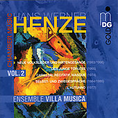 Henze: Chamber Music Vol 2 / Ensemble Villa Musica