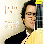 Che Soavitá - Italian Lute Music of the Baroque / Held