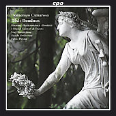 Cimarosa: Dixit Dominus / Pirona, Rizzone, Rottensteiner, Bonfatti, Haydn Orchestra, et al