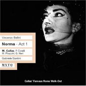 Bellini: Norma Act 1 / Santini, Callas, Corelli, Rome Opera