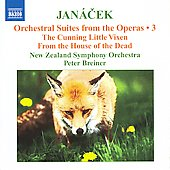 Janácek: Orchestral Suites from the Operas Vol 3 / Peter Breiner, New Zealand SO