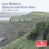 Behrens: Homages for Piano Solo / Bianca Baciu