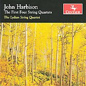 John Harbison: The First Four String Quartets / Lydian String Quartet