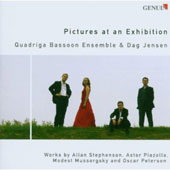 Quadriga Bassoon Ensemble - Mussorgsky: Pictures at an Exhibition; A. Stephenson: Divertimento; Piazolla: Tango Suite; O. Peterson: March Past
