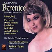 Handel: Berenice / Julianne Baird, Drew Minter et al.; Edward Brewer, harpsichord; Brewer CO; Palmer