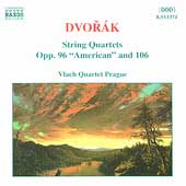 Dvorak: String Quartets Opp 96 & 106 / Vlach Quartet Prague