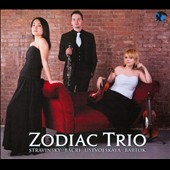 Zodiac Trio plays Stravinsky: L'Histoire du Soldat; Bacri: A  Smiling Suite; Bartok: Contrasts / Zodiac Trio