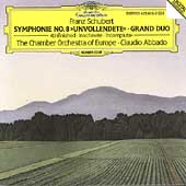 Schubert: Symphony no 8, Grand Duo / Abbado, CO of Europe