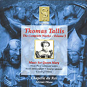 Tallis - Complete Works Vol 3 / Dixon, Chapelle du Roi