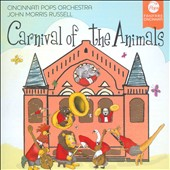 Saint-Saens: Carnival of the Animals; Jason Robert Brown & Georgia Stitt: Waiting for Wings / Cincinnati Pops Orch.