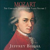 Mozart: The Complete Piano Sonatas, Vol. 2 / Jeffrey Biegel, piano