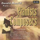 Pianists as Composers / Donald Manildi